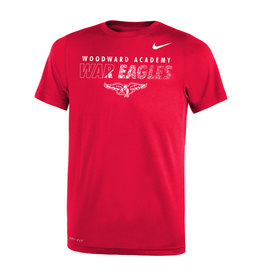 NIKE NIKE Youth Legend SS Tee in Red