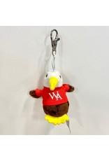 Mascot Factory PLUSH KEYCHAIN EAGLE