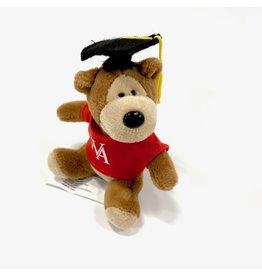 Mascot Factory Ornament - Plush Bear WA Grad