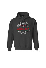 CI Sport CI Sport PO Embroidered Hoody in Charcoal