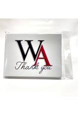 Fanatic Group STATIONERY - WA Thank You (QTY 10)