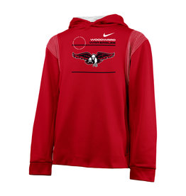 NIKE NIKE Youth Thermo PO Hoodie (Red)