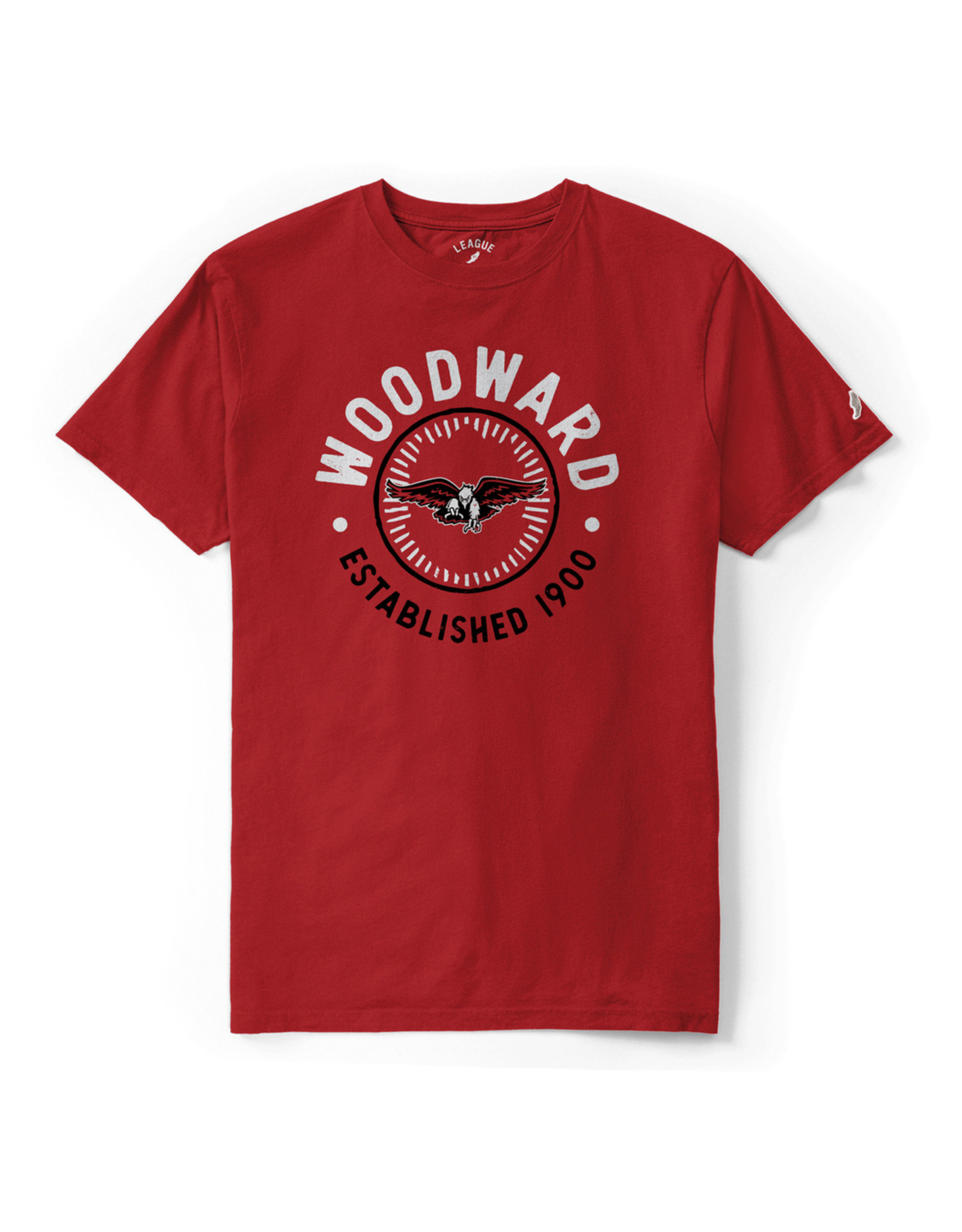 League League All American T-Shirt in Red