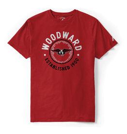 League League  T-Shirt in Red