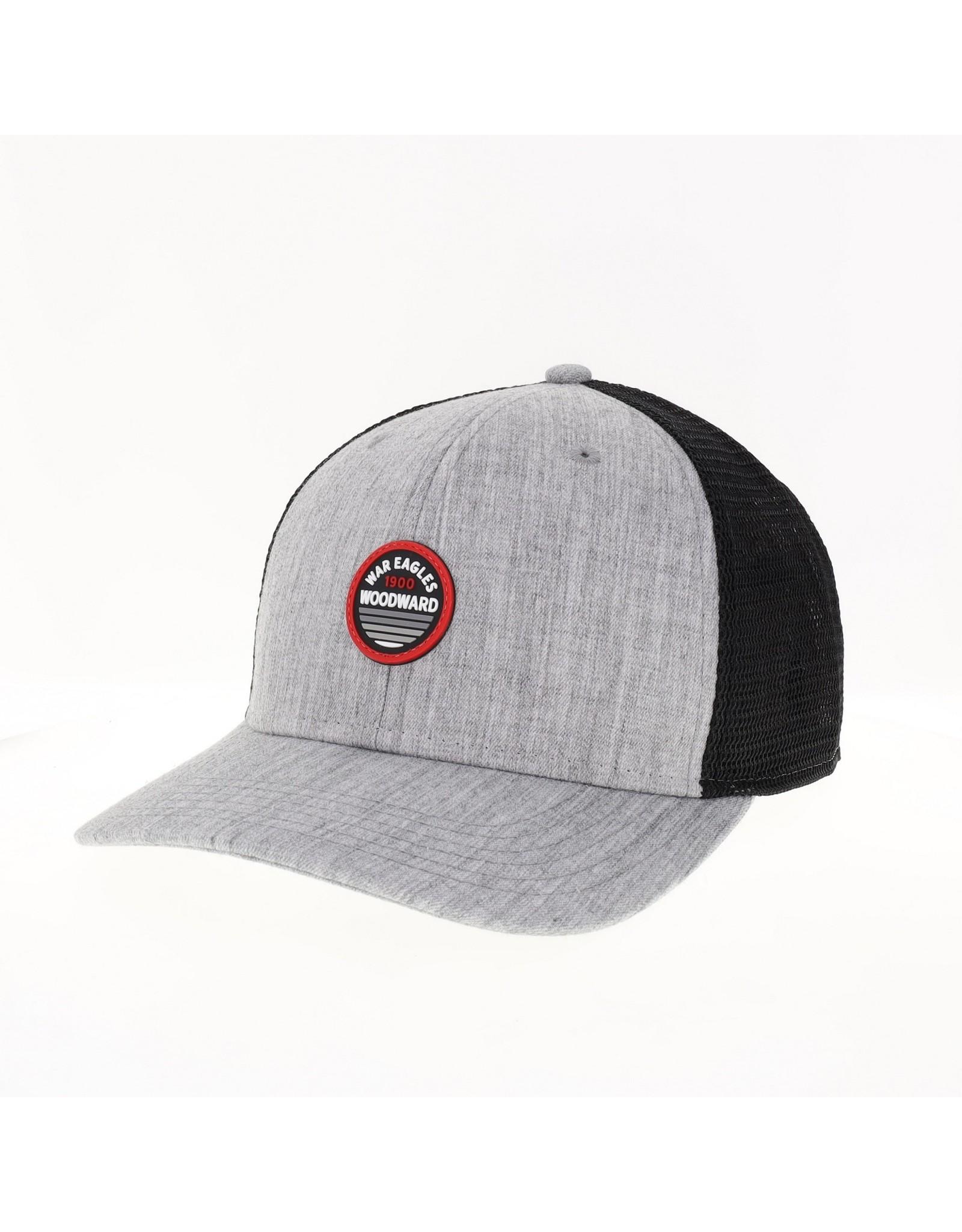 Legacy Mid-Pro Snapback Trucker Cap in Malange Grey & Black