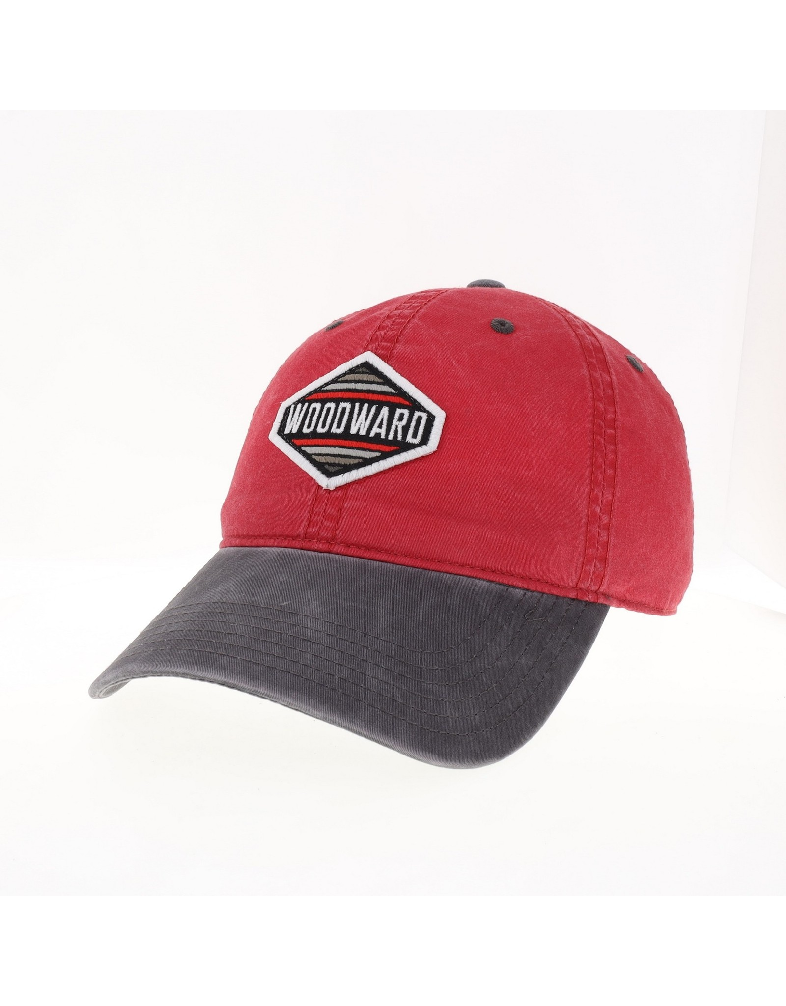 Legacy Terra Twill Relaxed legacy Cap in Red/Grey