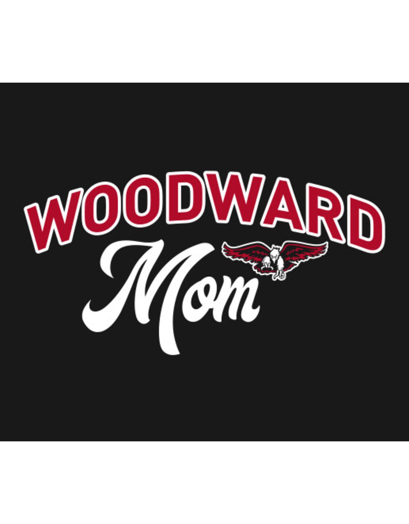 Jerzees Dri-power Woodward Mom T-Shirt in Black (unisex)