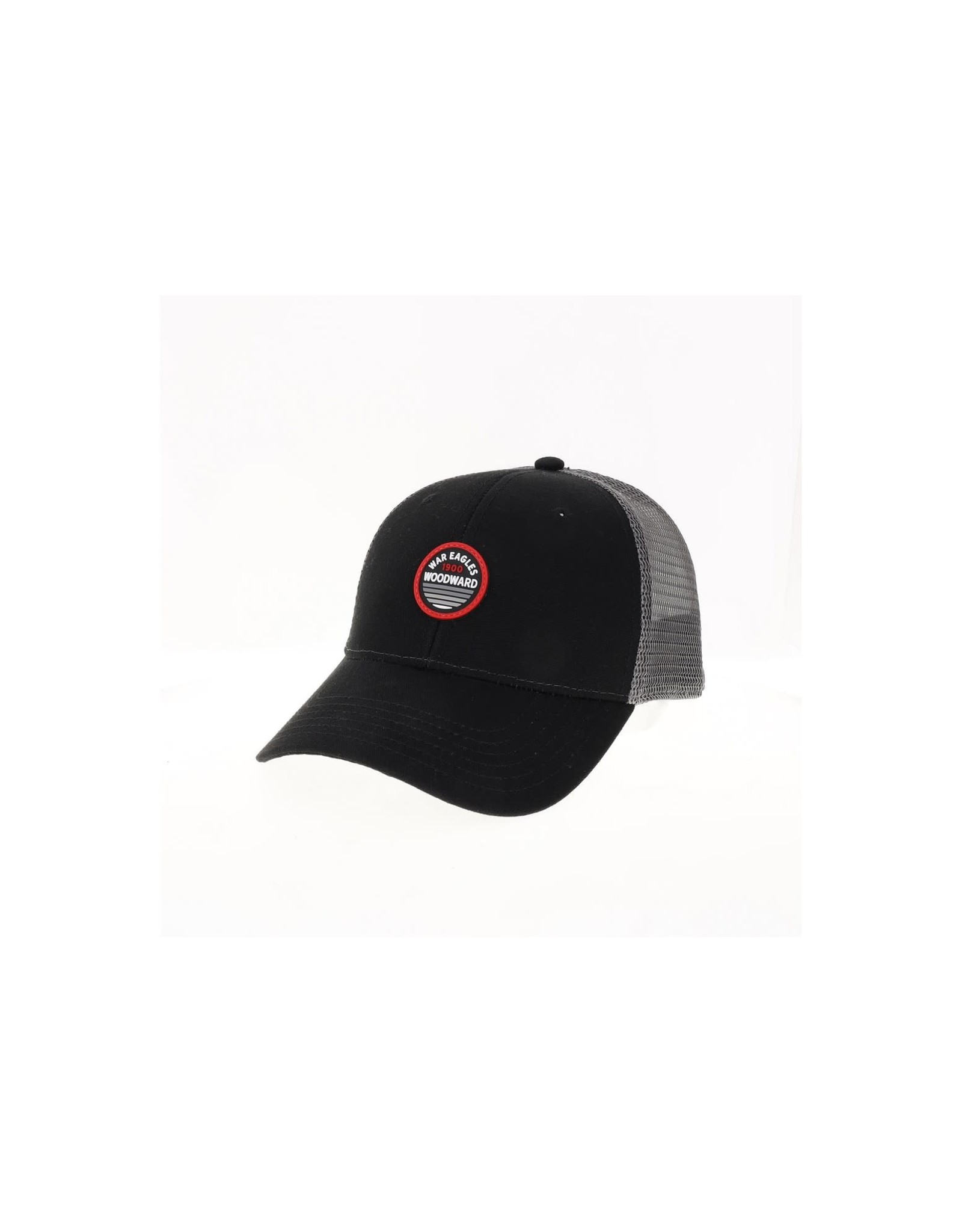Legacy Cap Youth Legacy Trucker Cap Blk/Gry