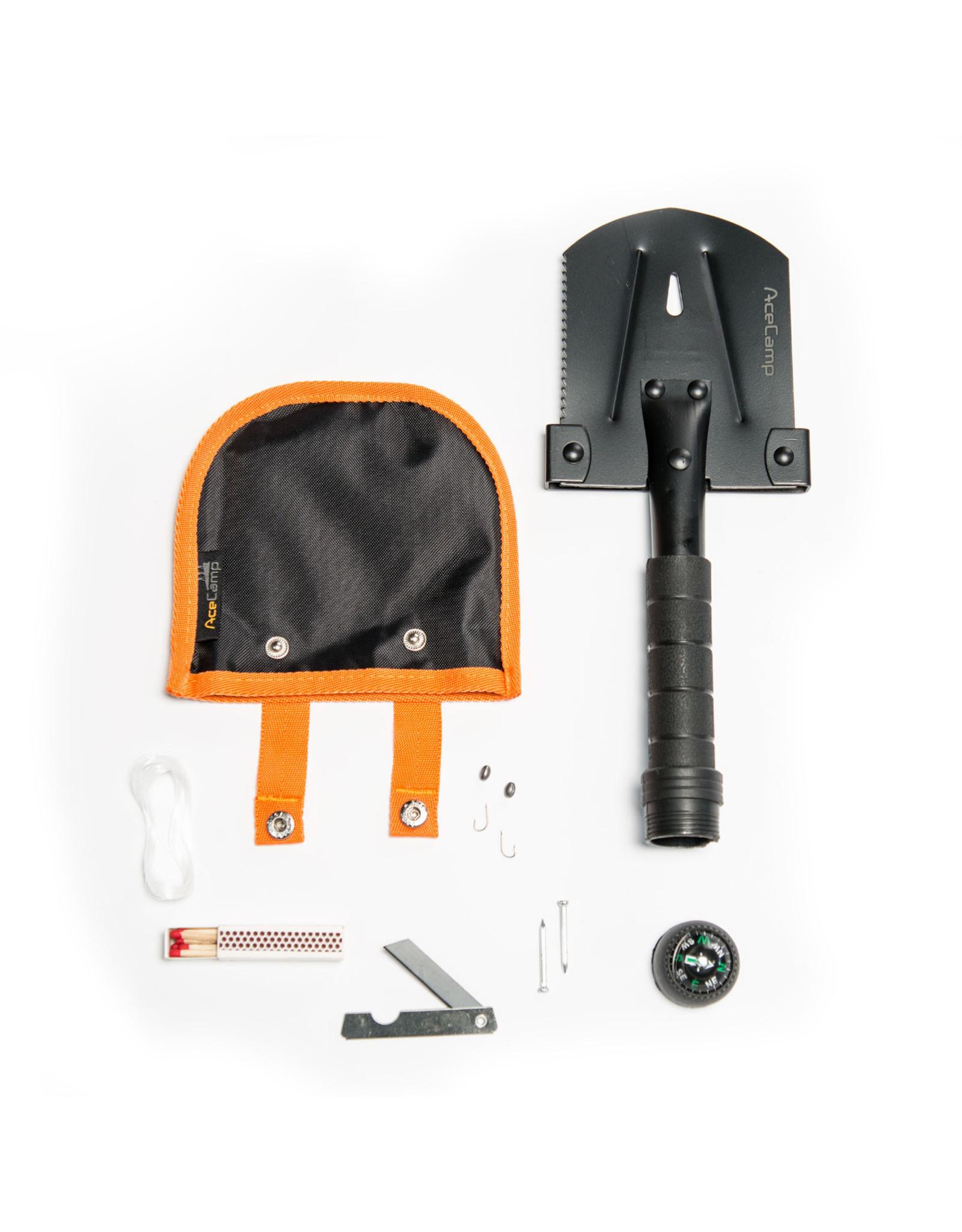 Ace Camp Survivor Multi-tool Shovel