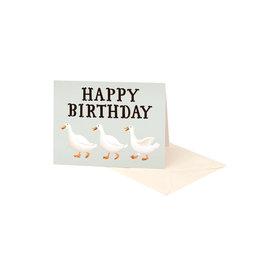 Clap Clap Ducks Happy Birthday Card