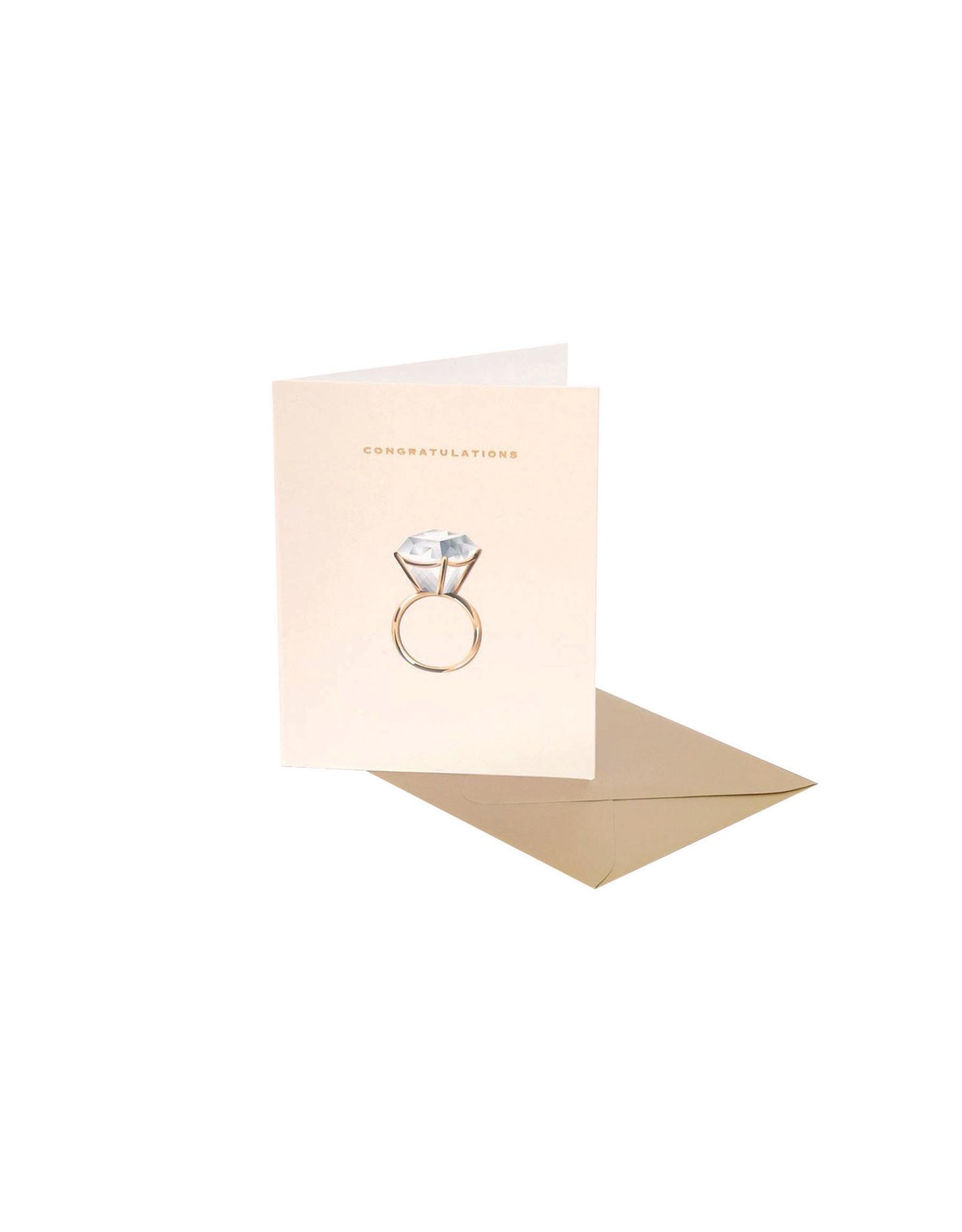 Clap Clap Diamond Ring Congratulations Card