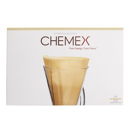 Chemex 3 Cup Circular Filters, Natural