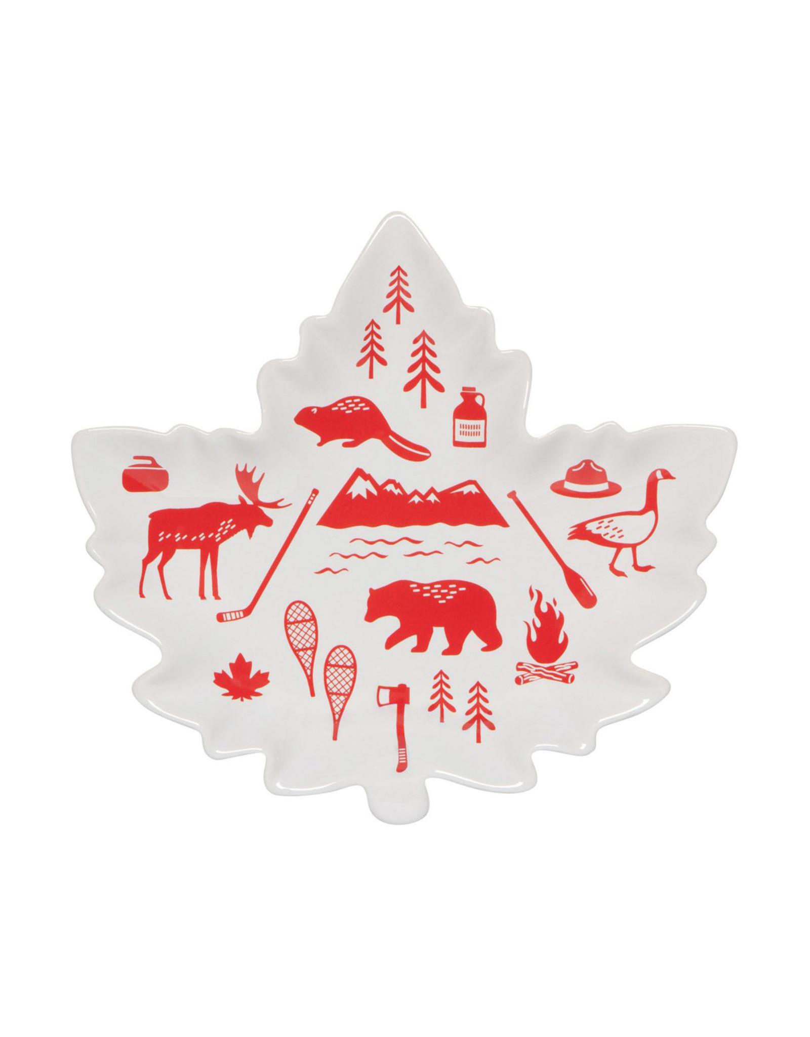 Danica Shaped Dish, O Canada