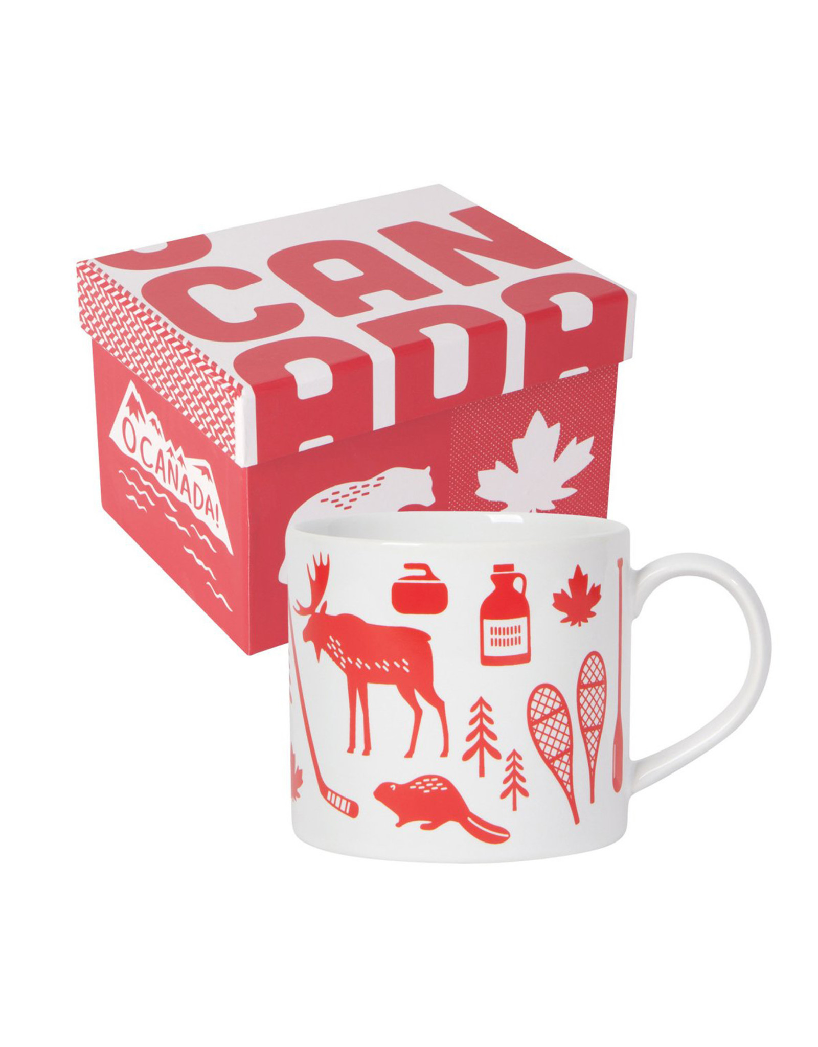 Danica Pattern Mug, O Canada