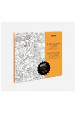 OMY Colouring Poster - Music