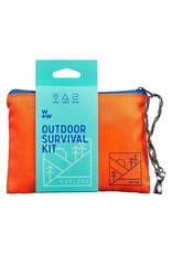 Wild + Wolf Outdoor Survival Kit Pouch
