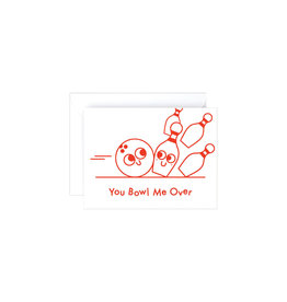 Wrap You Bowl Me Over Mini Card