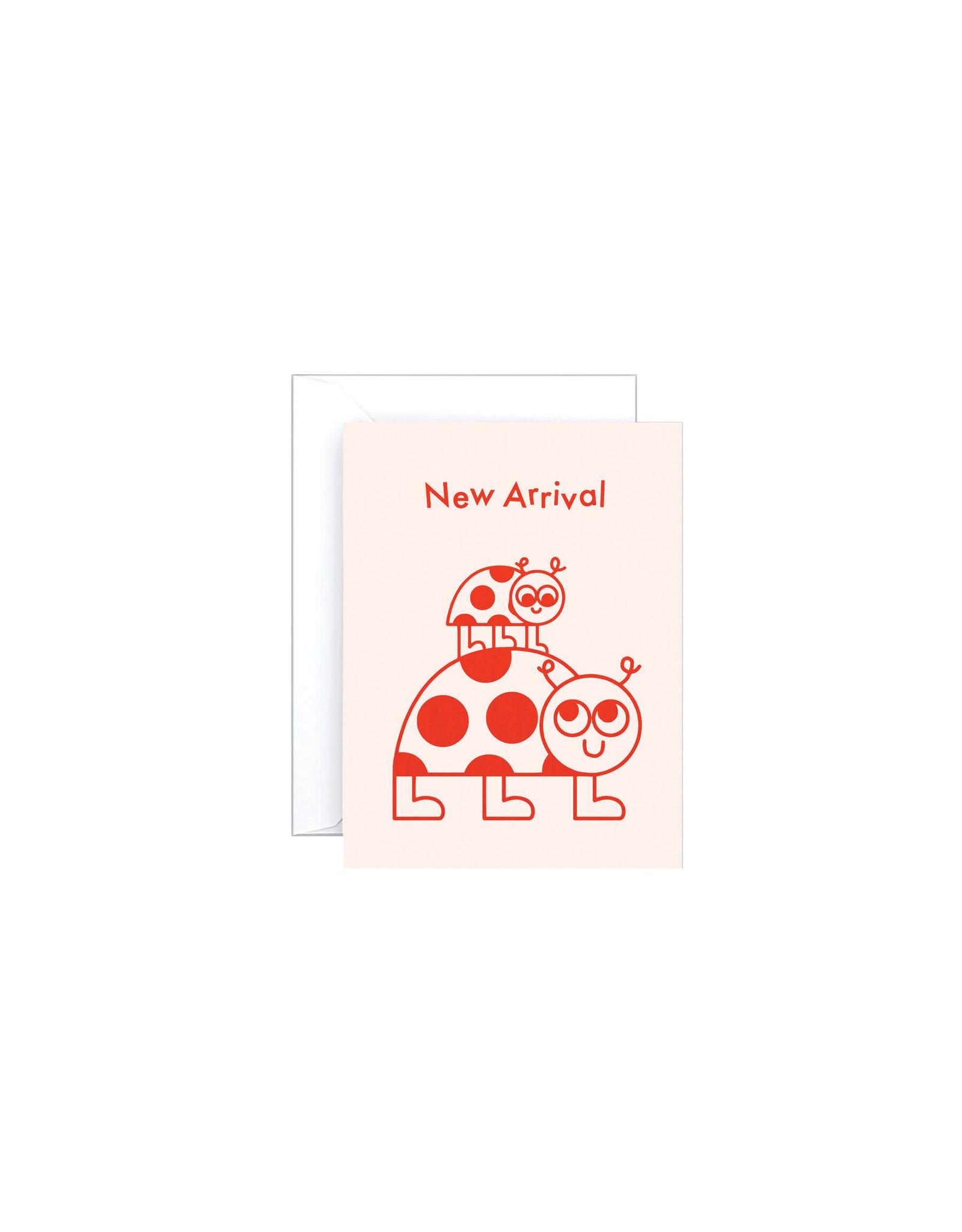 Wrap New Arrival Ladybug Mini Card