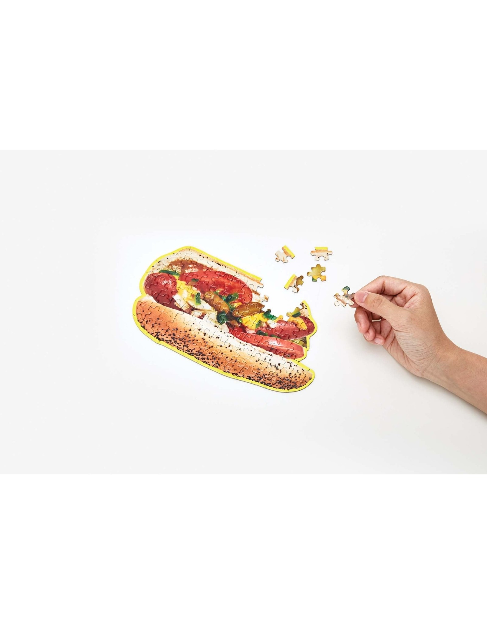 Areaware Little Puzzle Thing, Chicago Hot Dog