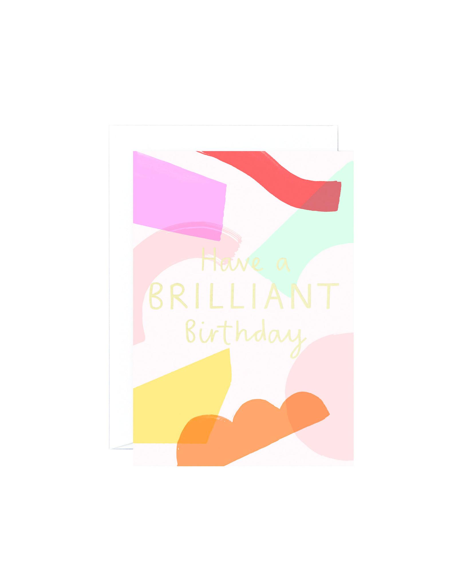 Wrap Brilliant Birthday Card