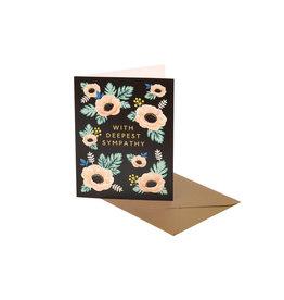 Clap Clap Anemone Sympathy Card