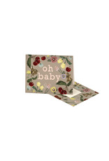 Clap Clap Bunny and Cherry Baby Card