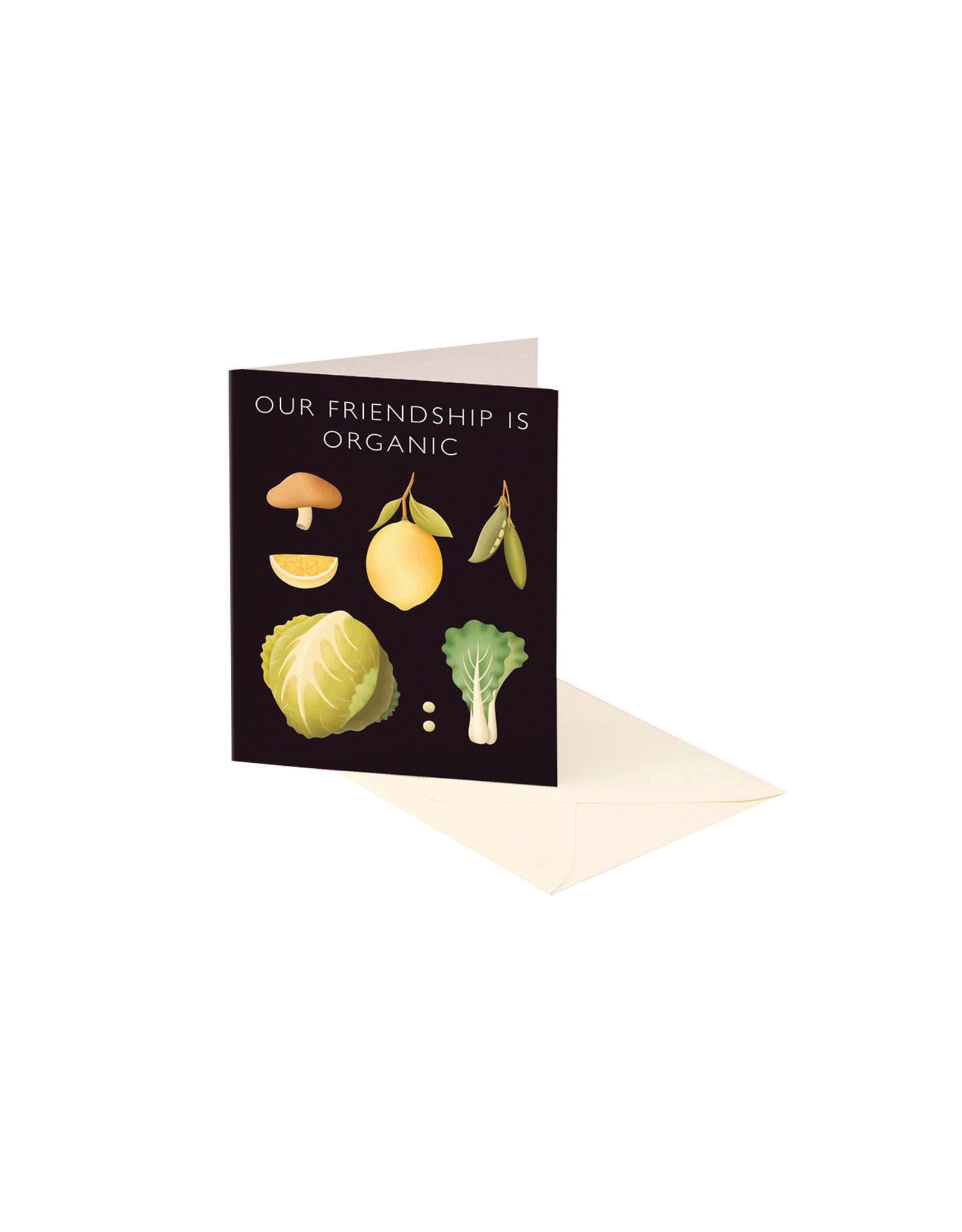 Clap Clap Our Friendship is Organic Vegetable Card
