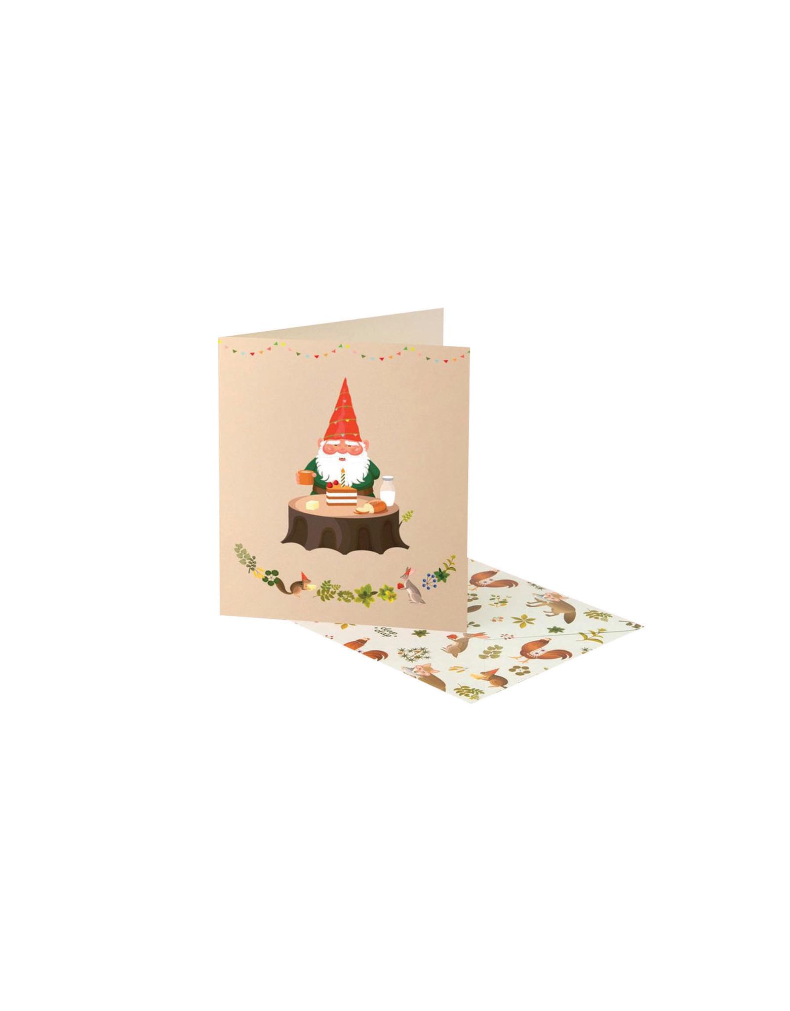 Clap Clap Gnomes Birthday Card