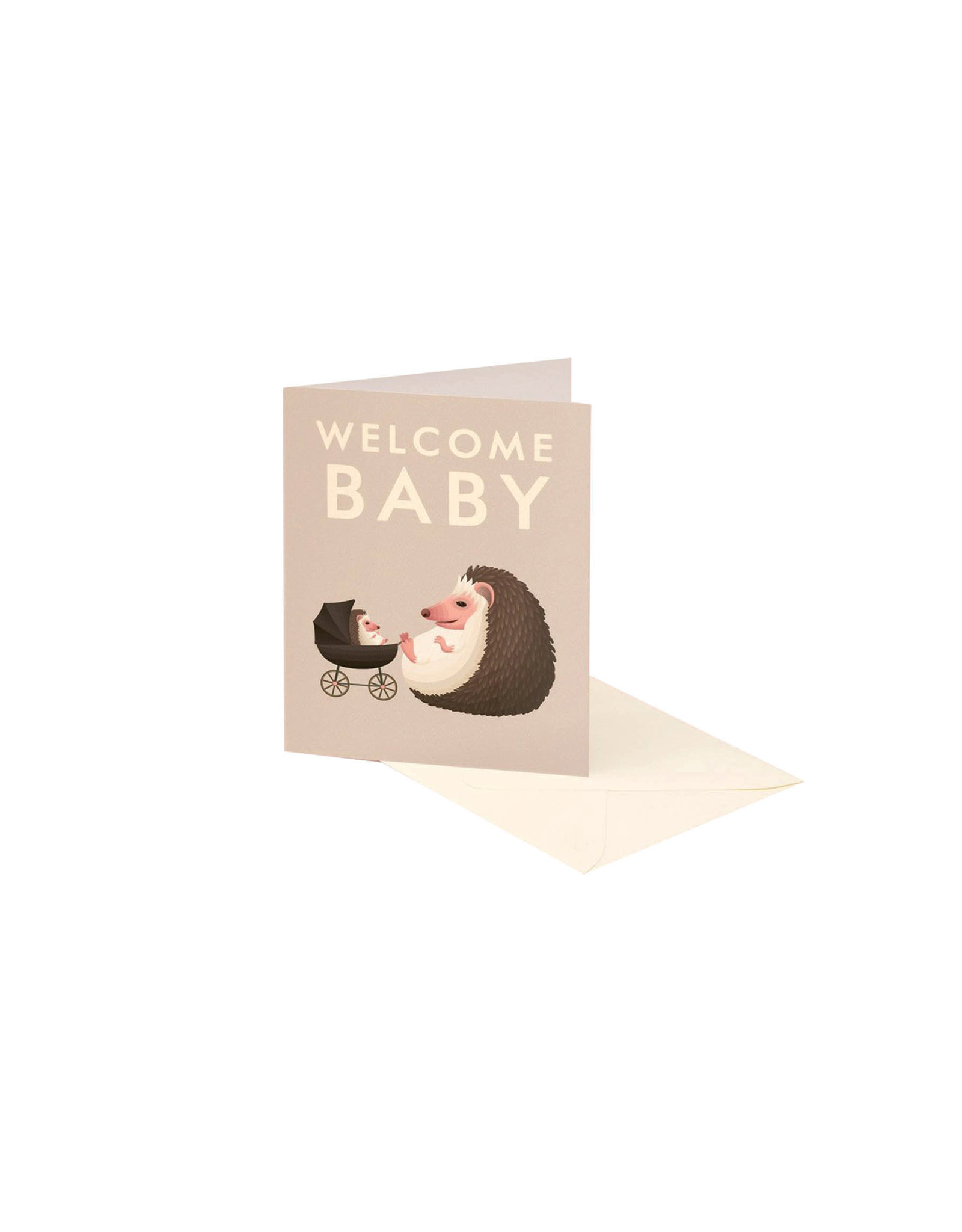 Clap Clap Hedgehog Baby Card
