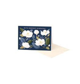 Clap Clap Magnolia Sympathy Card