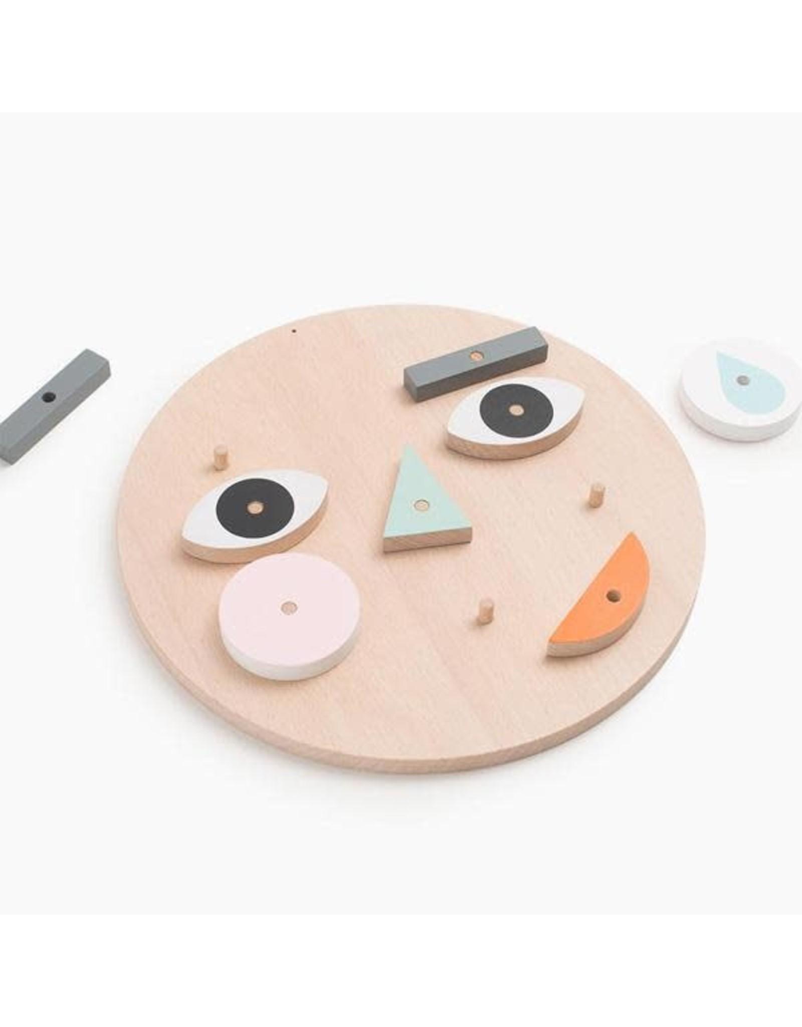 Moon Picnic Make a Face Toy