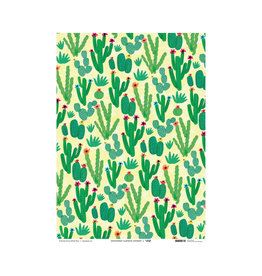 Wrap Cactus Field Gift Wrap