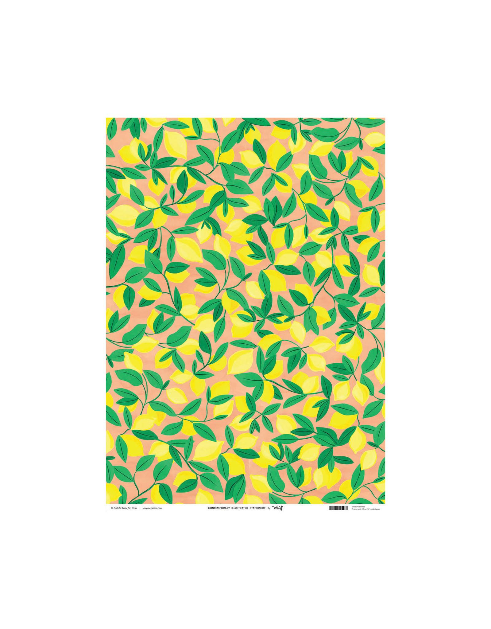 Wrap Tuscan Lemons Gift Wrap