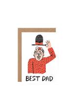 Wrap Best Dad Card