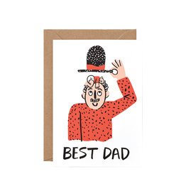 Wrap Best Dad Card