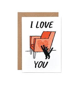 Wrap Cat Love Card