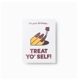 Wrap Treat Yo' Self Mini Card