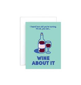 Wrap Wine About It Mini Card