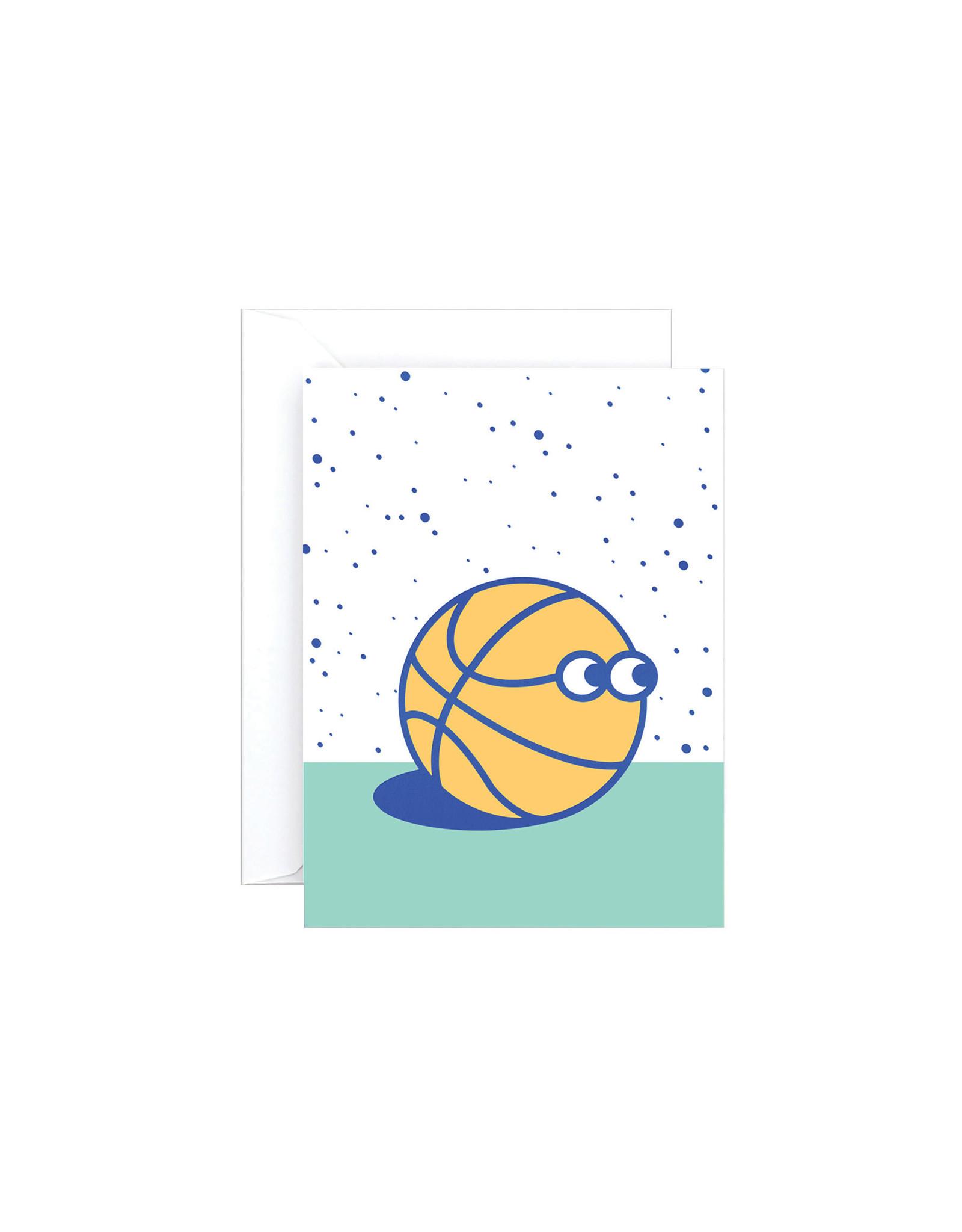 Wrap Basketball Guy Mini Card
