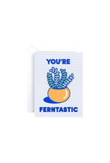 Wrap You're Ferntastic Mini Card