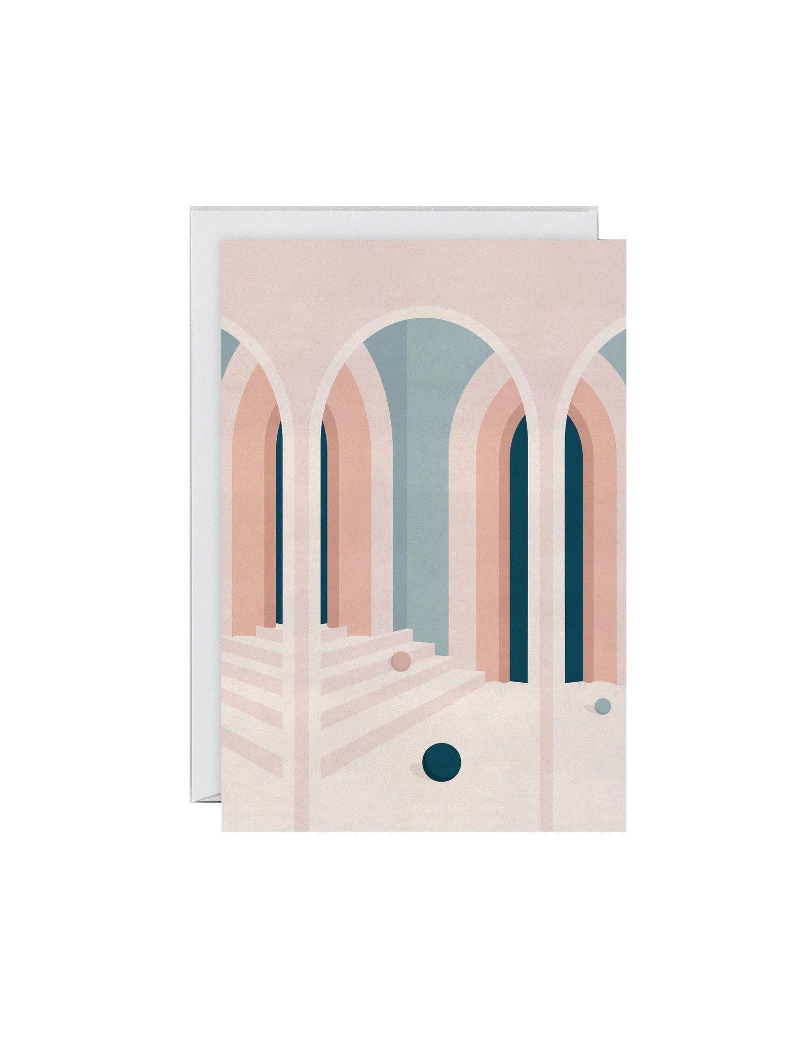 Wrap Pastel Arches Card