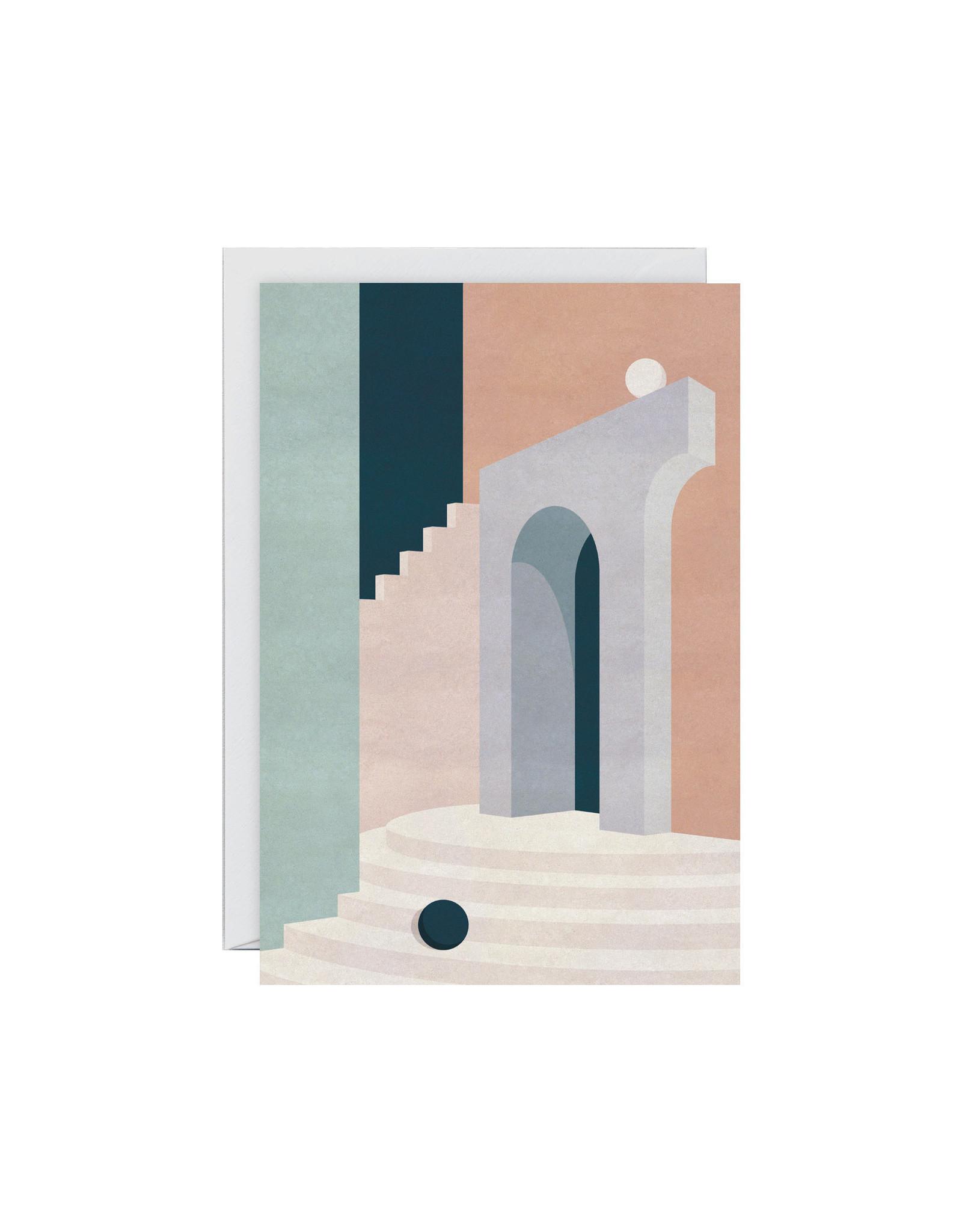 Wrap Pastel Doorway Card