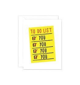 Wrap To Do List Card