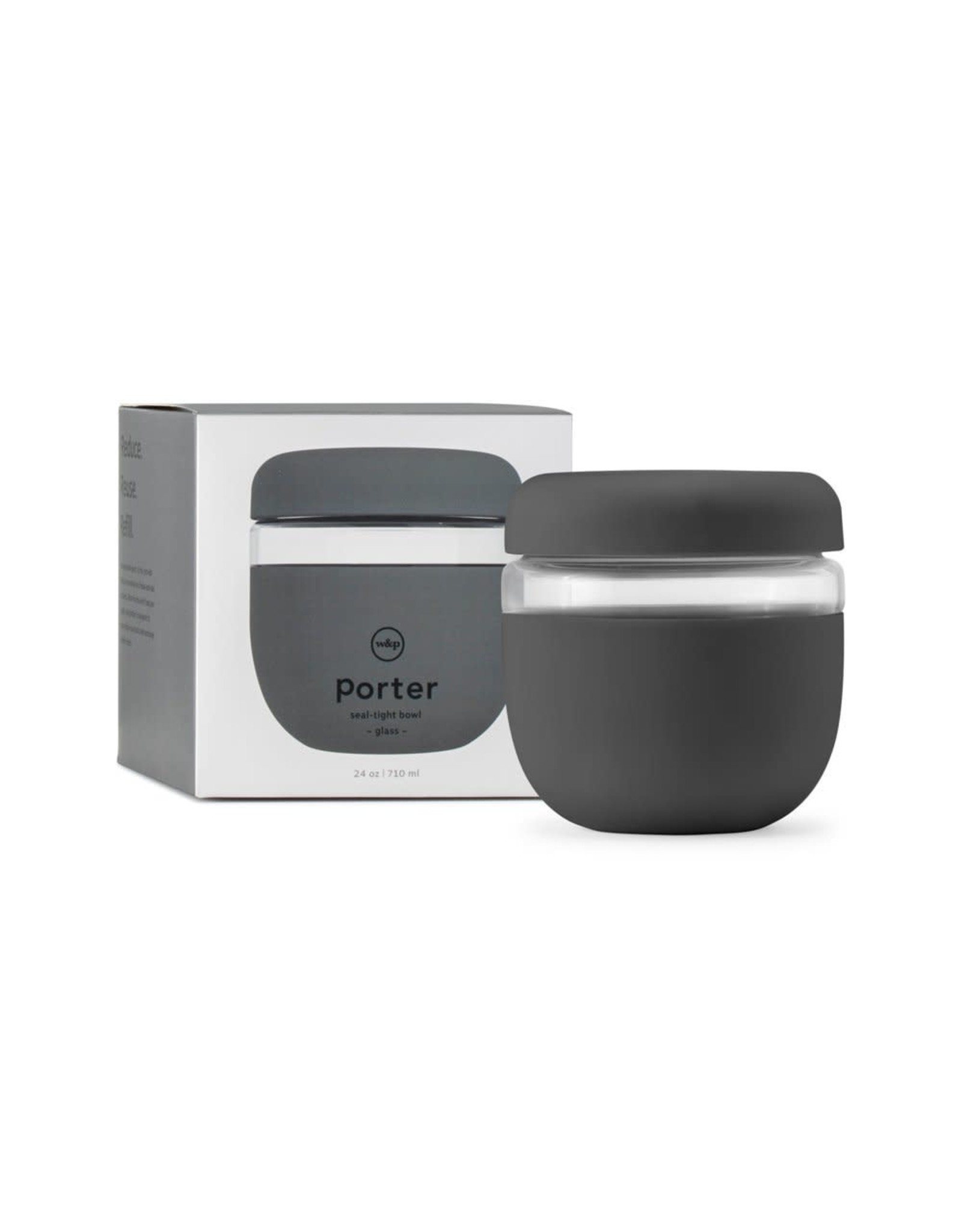 W&P Porter Seal-Tight Bowl, Charcoal
