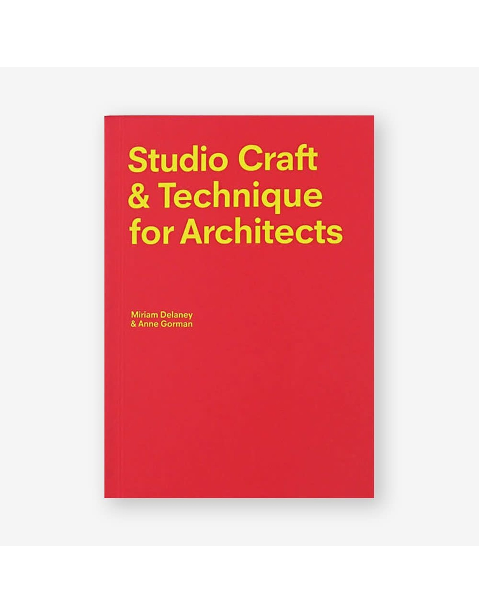 Studio Craft and Technique for Architects