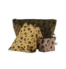 Baggu Go Pouch Set, Leopard