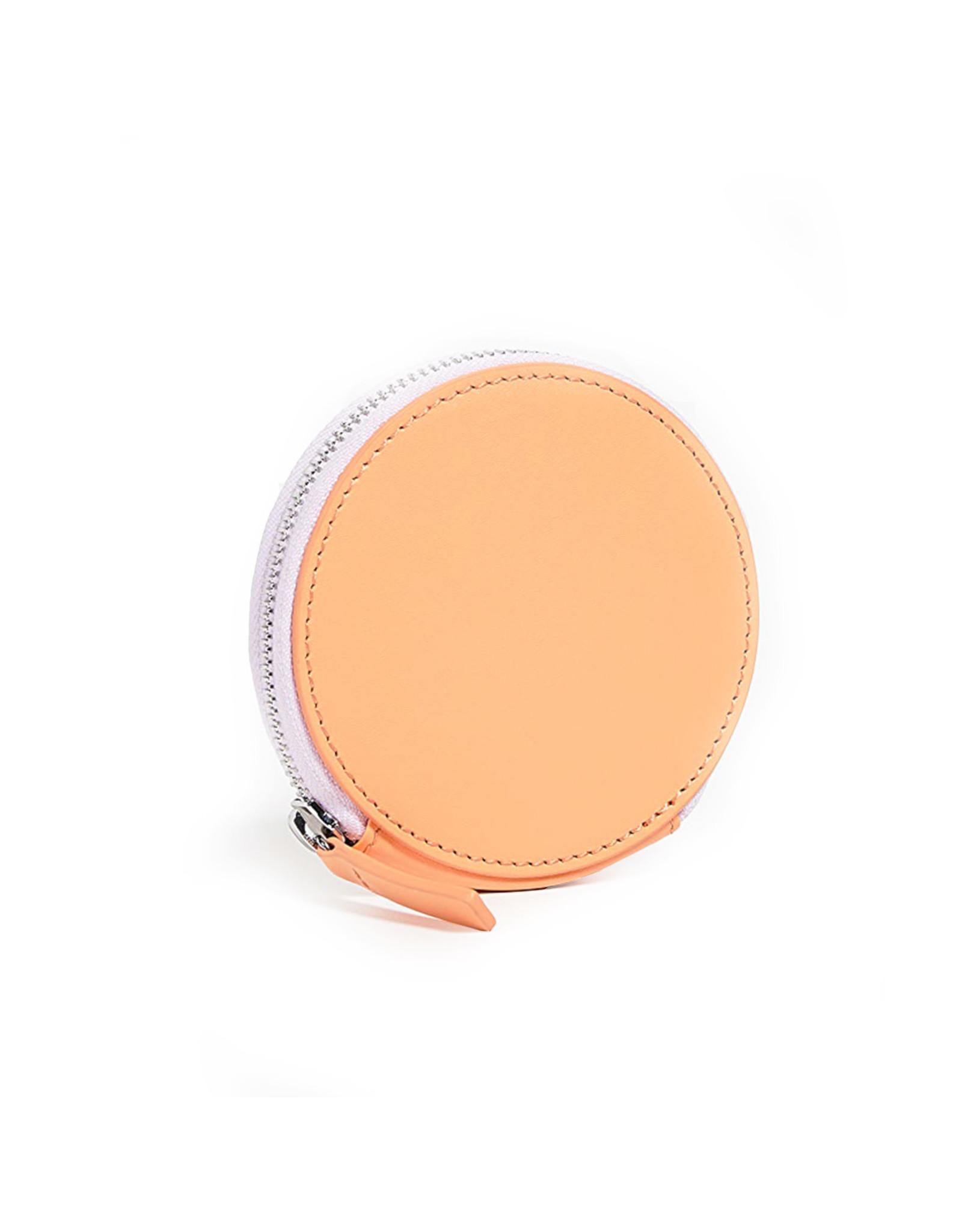 Baggu Circle Wallet, Orange Sherbert