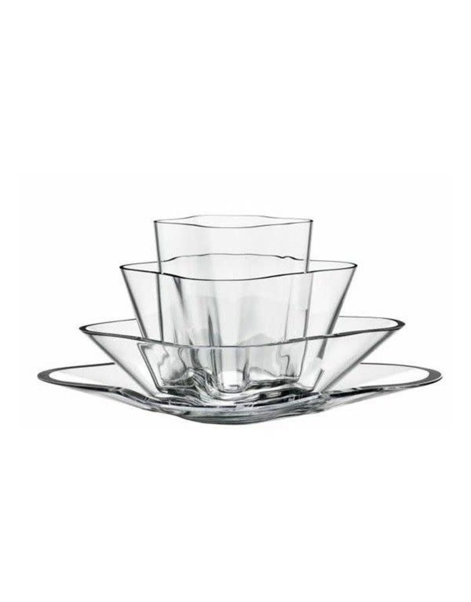 Aalto Flower Vase, Set of 4