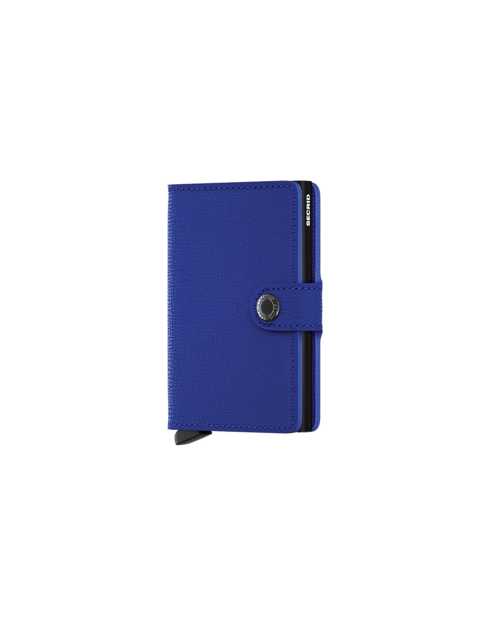 Secrid Miniwallet , Crisple Blue-Black
