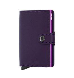 Secrid Miniwallet, Matte Purple